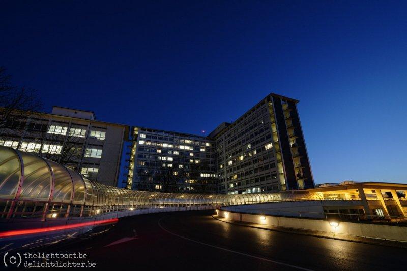 Middelheimziekenhuis, aan het einde van het bezoekuur