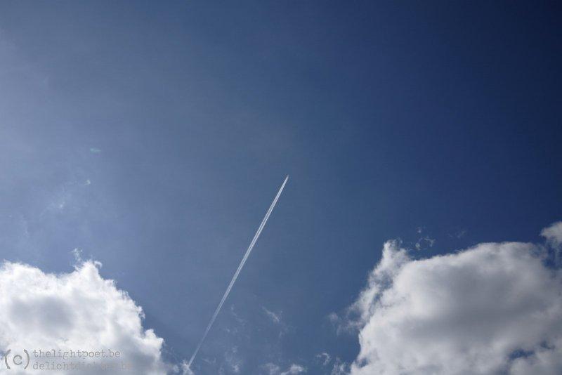 Kijk! Een vliegtuig!