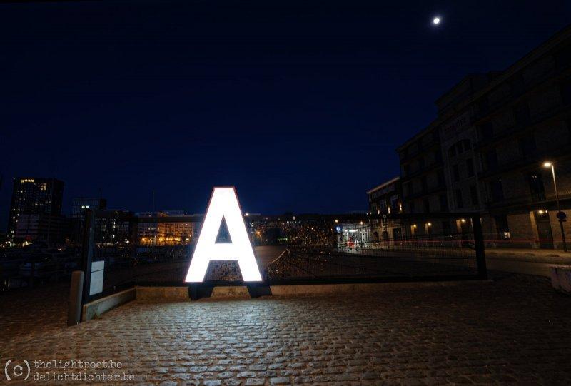 De A van Antwerpen blijft stralen, ook in deze bizarre tijden...