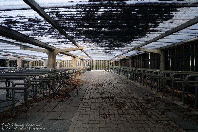 Geen studenten, geen fietsen