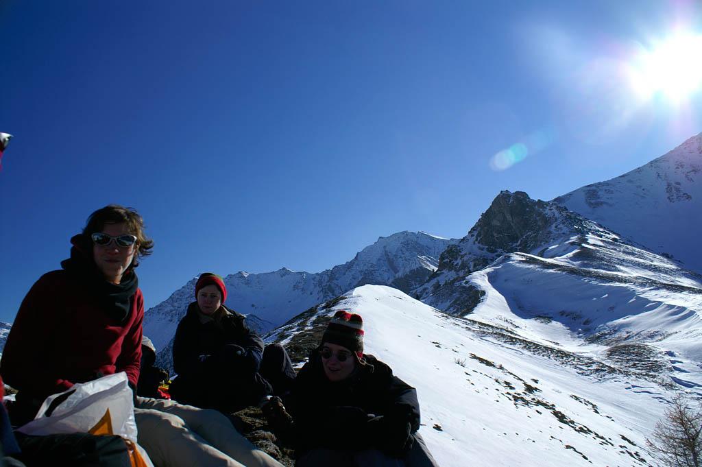 Sneeuwschoenen, winter 2005/2006