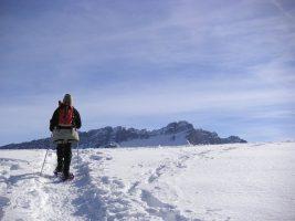 Sneeuwschoenen, februari 2005