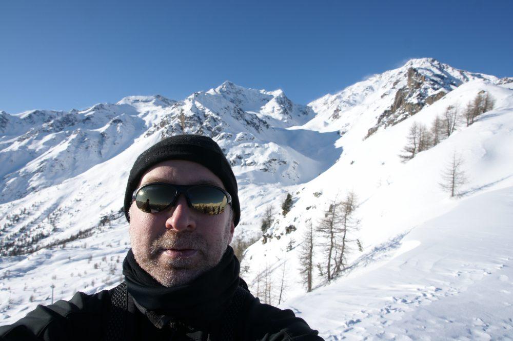 Sneeuwschoenen, Trentino, december 2008