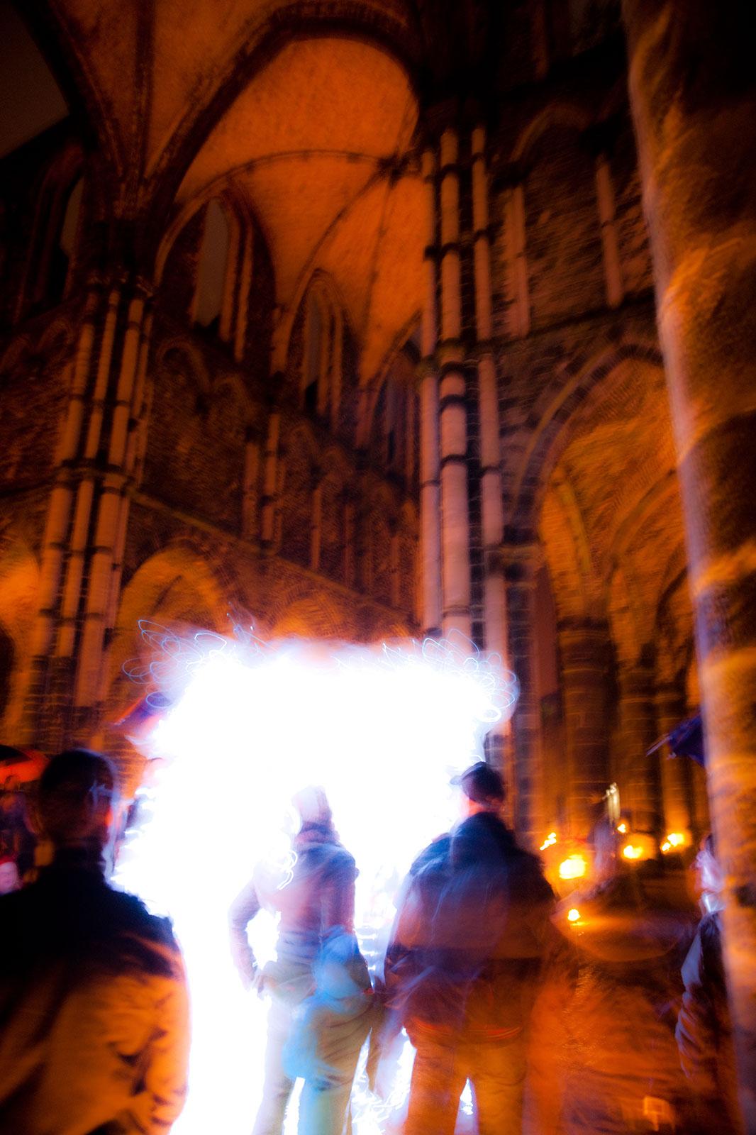 Nuit Magique (Abdij Villers), oktober 2009