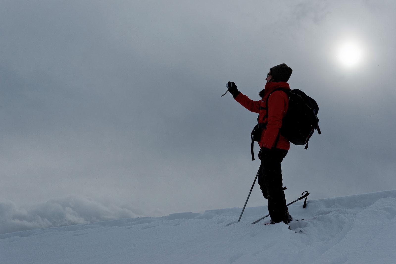 Sneeuwschoenen (Trentino), december 2009