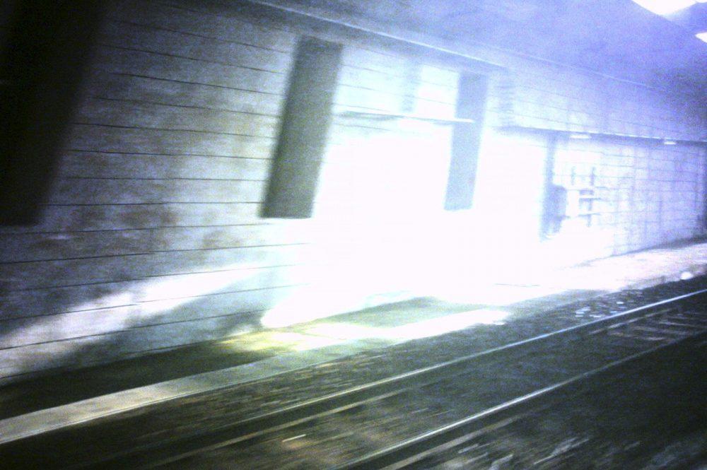 Trein naar Brussel, januari 2010