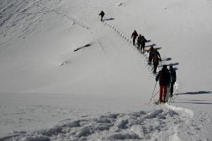 Sneeuwschoenen, Les Ecrins, februari 2011