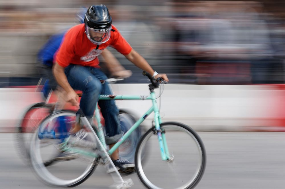 Polo, op de fiets, september 2011