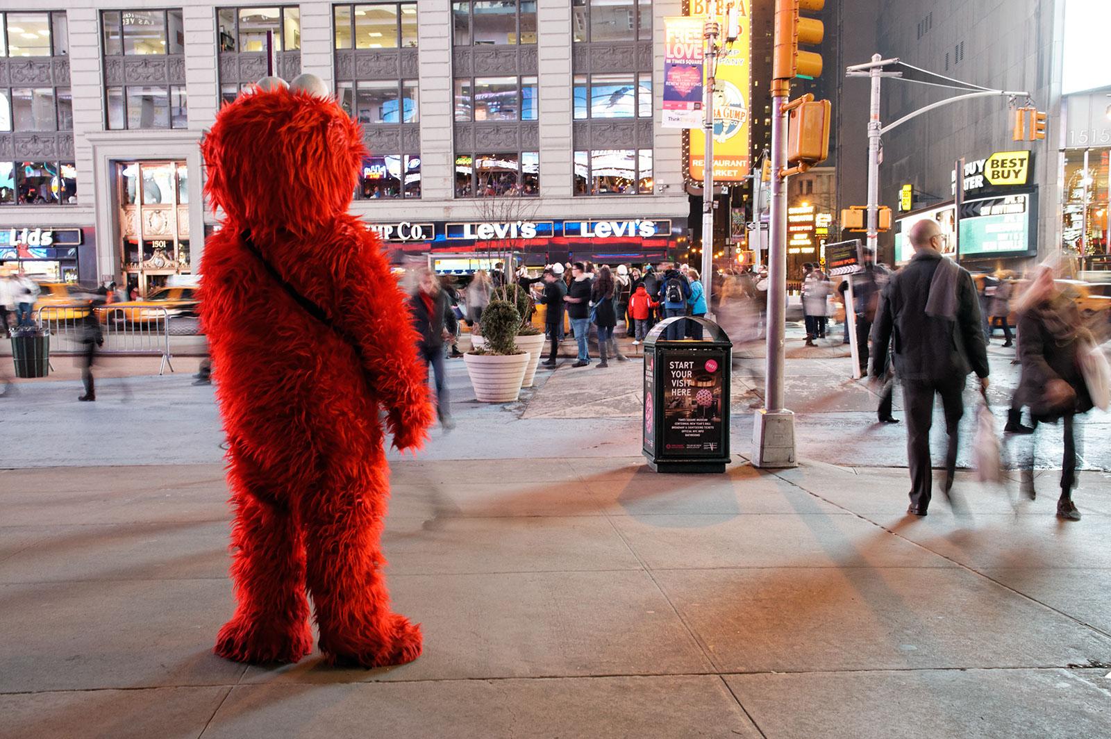 New York City, februari 2012