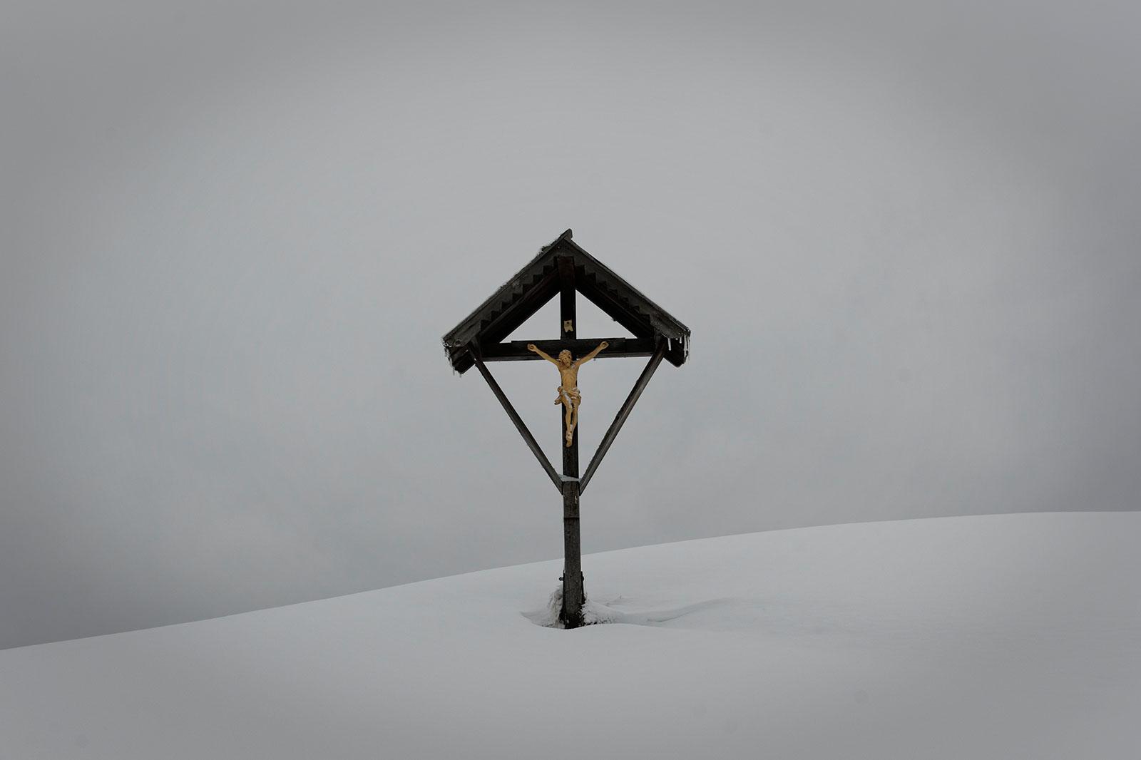Sneeuwschoenen, Stubaital, maart 2012
