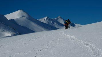 Sneeuwschoenen, Les Ecrins, nieuwjaar 2013