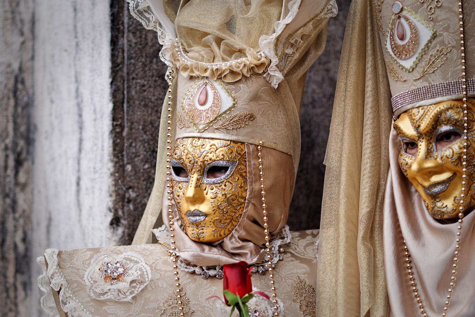Carnaval in Venetië, maart 2014