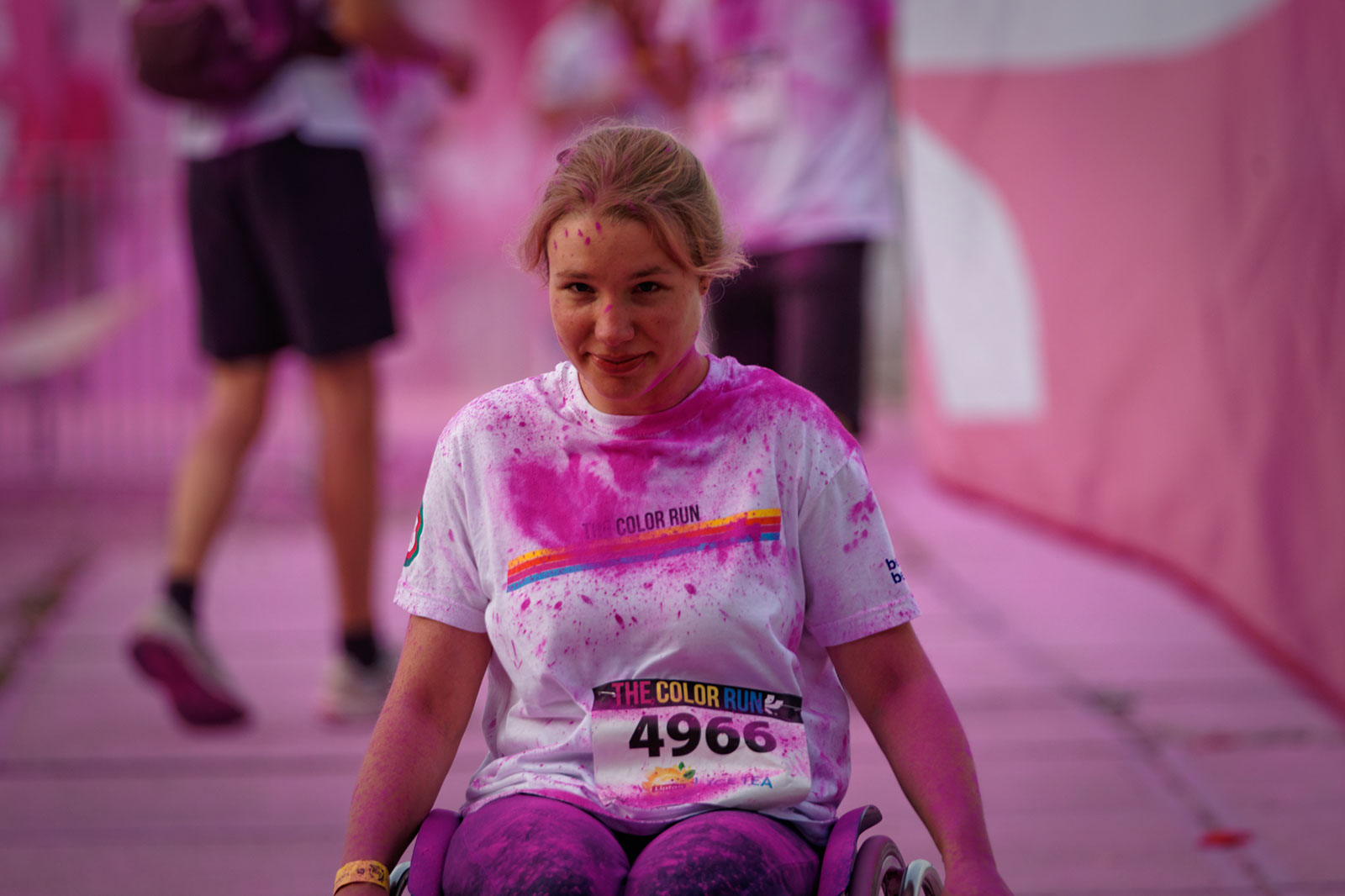The Color Run (Brussel), september 2014