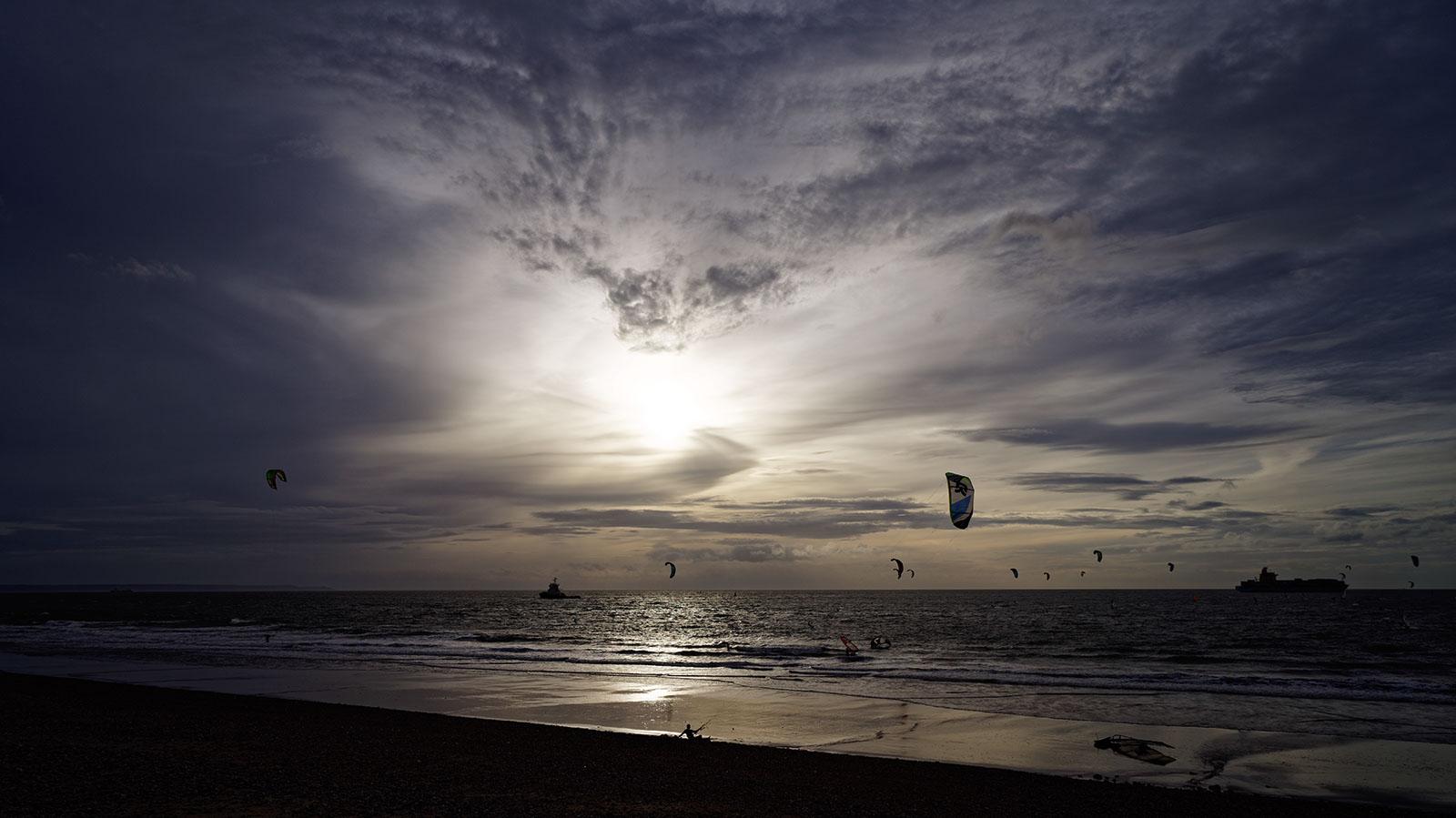Kitesurfers, November 2014