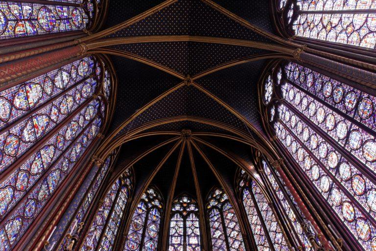 Sainte-Chapelle (Parijs), augustus 2016